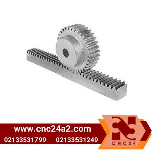 چرخ دنده شانه ای ساده برند CNC۲۴